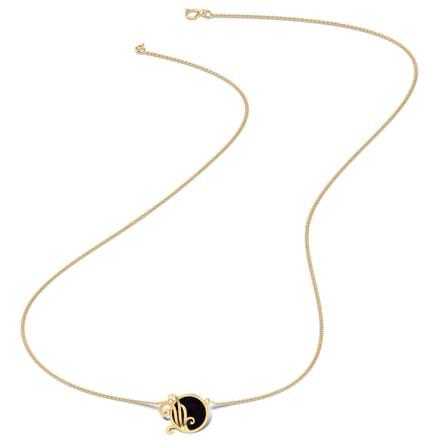 Genteel Black Onyx Necklace