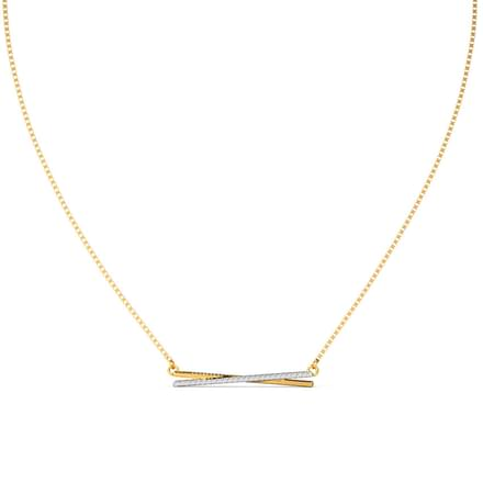 Amore Bar Diamond Necklace