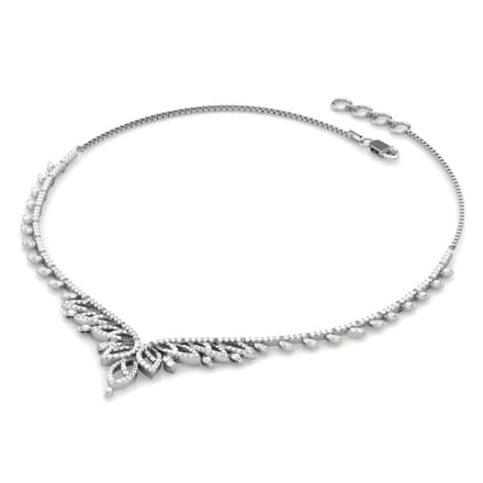 Border Leaf Necklace