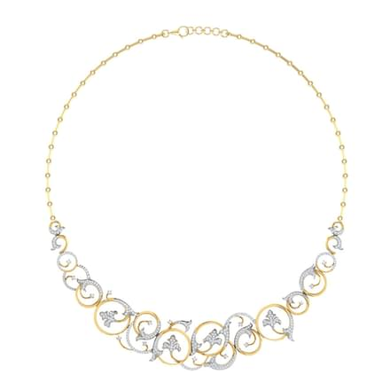 Amelia Ivy Vine Necklace