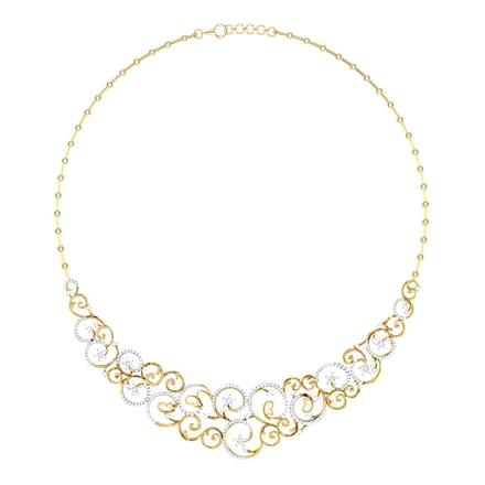 Katharine Vine Swirls Necklace