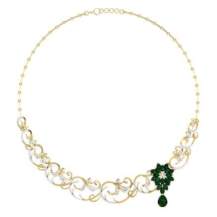 Clara Wreath Necklace