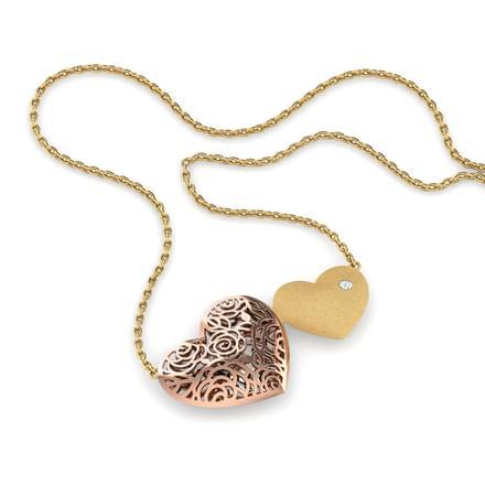 Kim Twin Heart Necklace