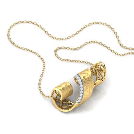 Belinda Hammered Necklace