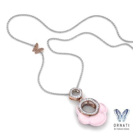 Joya  Rose Quartz Necklace