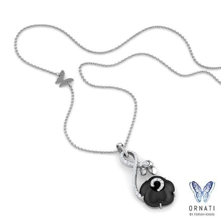 Iva  Black Onyx Necklace