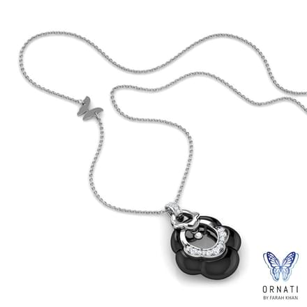 Ilse  Black Onyx Necklace