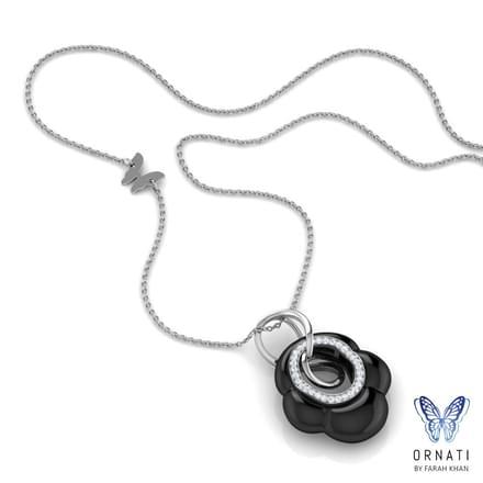 Felis  Black Onyx Necklace