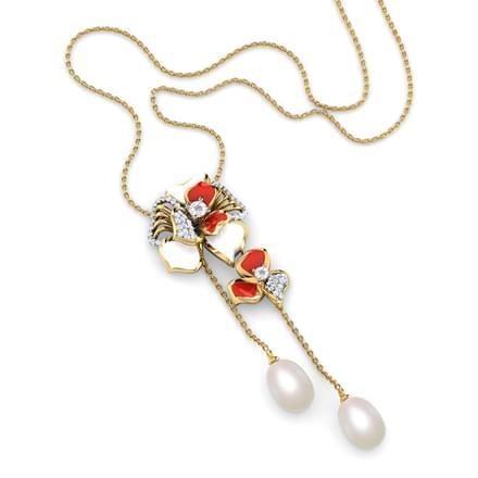 Raisa Red Fiore Necklace