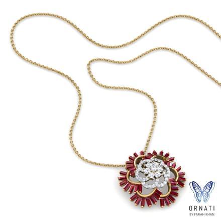Lin Flourish Necklace