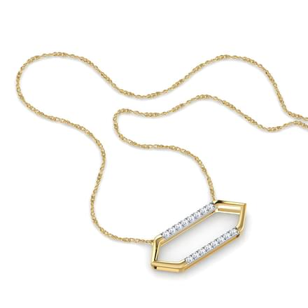 Nadia Hexagonal Necklace