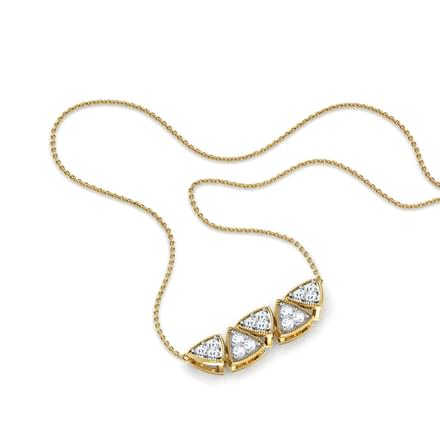 Natalia Twin Bar Necklace