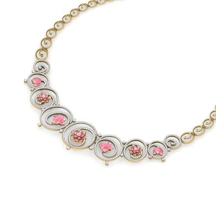 Lotus Fantasy Necklace