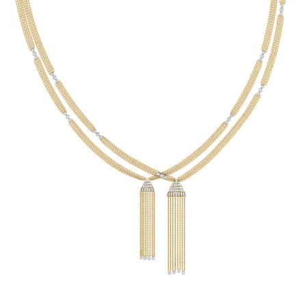 Angela Tassel Necklace