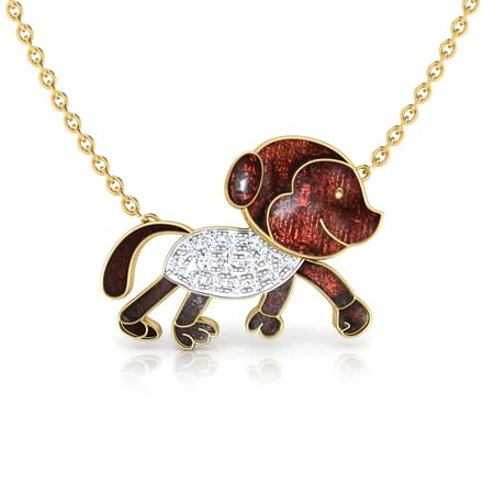 Amigo Monkey Necklace