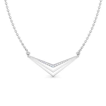 Peak  Geometric Necklace