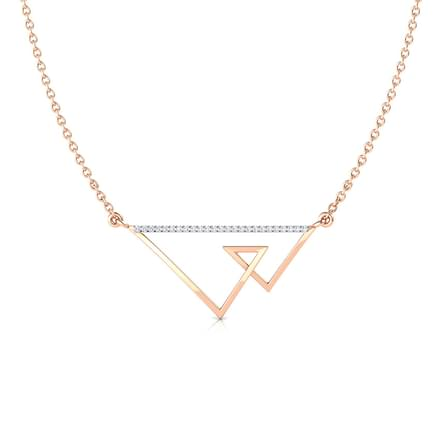 Duo Tri Geometric Necklace