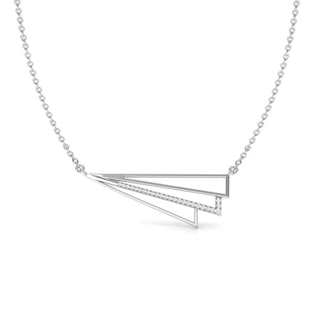 Stripes Geometric Necklace