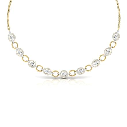 Modish Halo Necklace