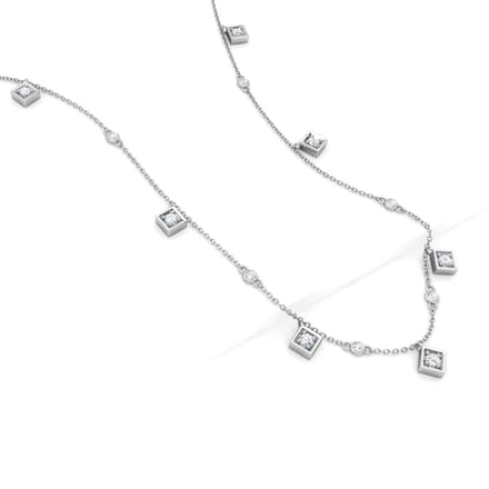 Quad Fine Line Necklace