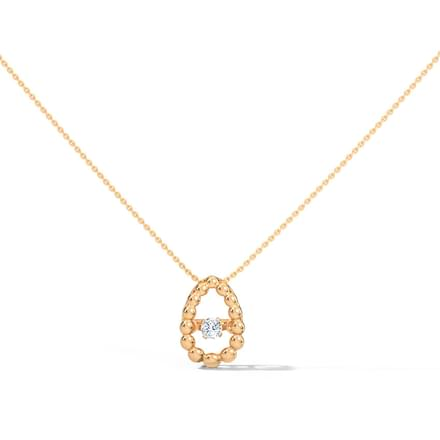Josephine Heartbeat Diamond Necklace