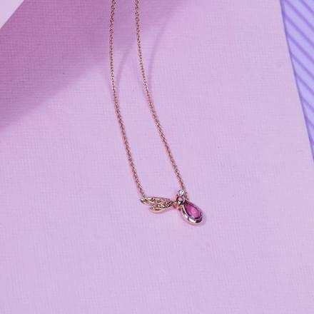 Glide Dragonfly Necklace