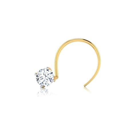 Solitaire Nose Pin Jewellery India line CaratLane