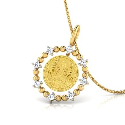 Aura Lakshmi Coin Pendant