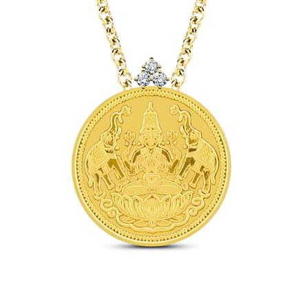 Lakshmi Coin Pendant