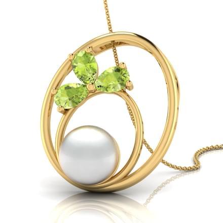 Ripple Pearl Pendant
