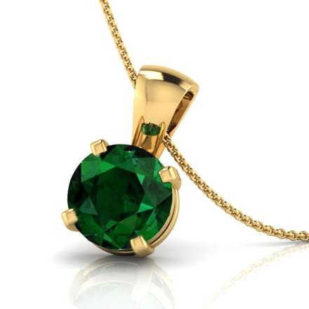Simply Emerald Pendant