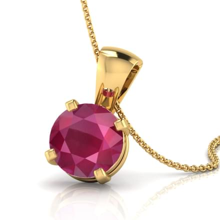 Simply Ruby Pendant
