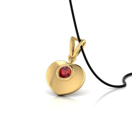 Sweetheart Garnet Pendant