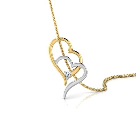 Joint Heart Pendant