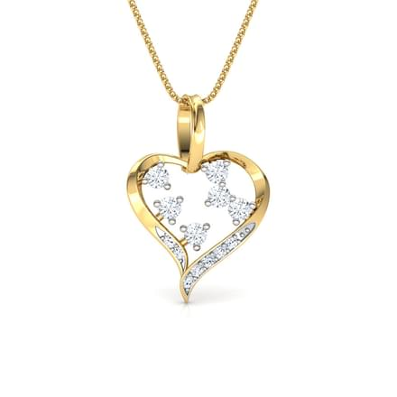 Bejewelled Heart Pendant