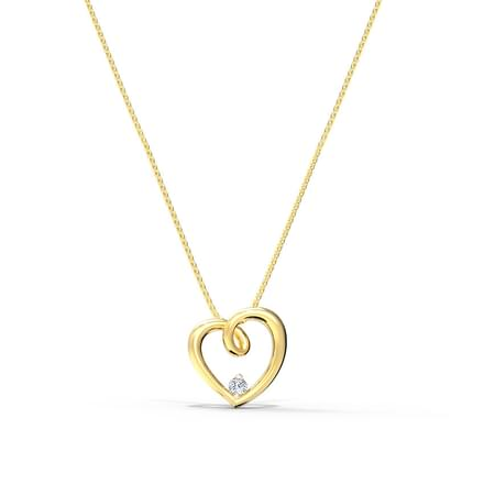 e5ccdd694422 Dizzy Heart Pendant Dizzy Heart Pendant. Casual 18 Kt Yellow Gold Pendant