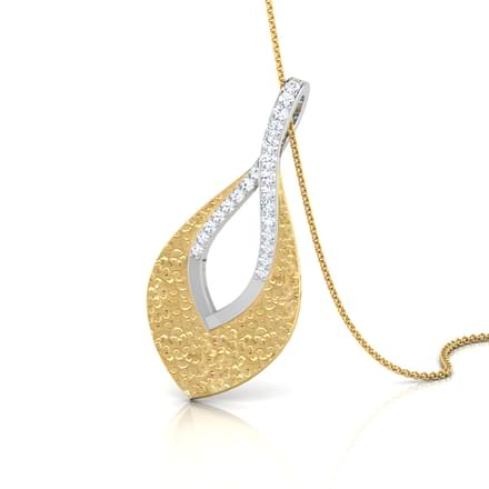 Open Tear-drop Pendant