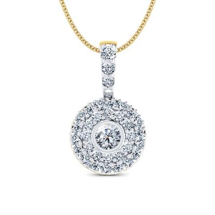 Galaxy Diamond Pendant