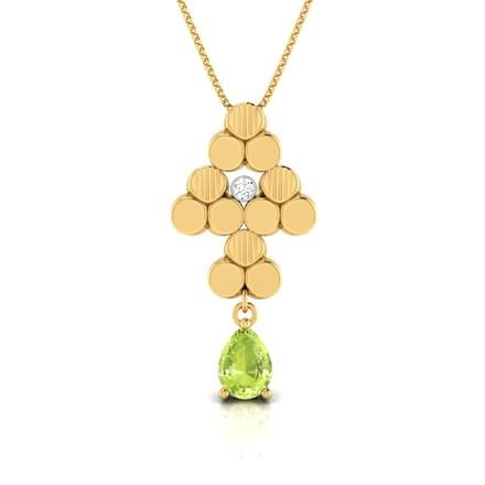 Crystalline Green Pendant