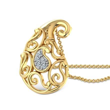 Ethea Paisley Pendant