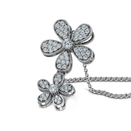 Diamond Bloom Pendant