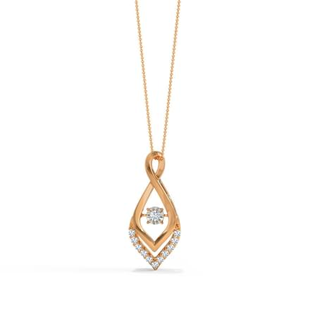 Fannie Heartbeat Diamond Pendant