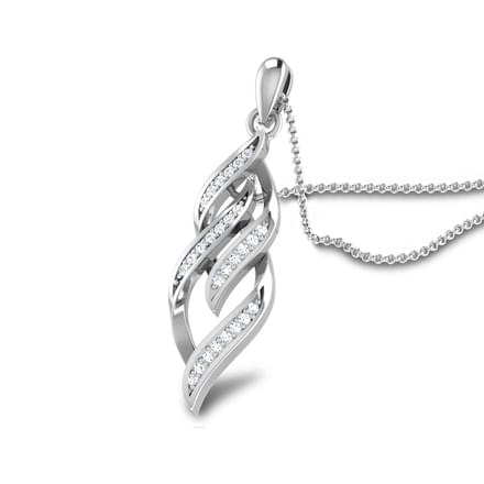 Leaf Infinity Pendant