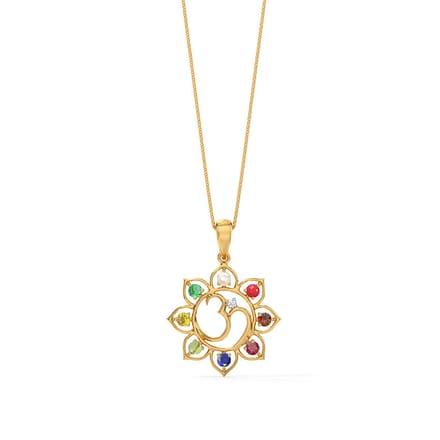 67 pendants for men designs buy pendants for men price rs 6514 ashtadal navratna pendant ashtadal navratna pendant aloadofball Images