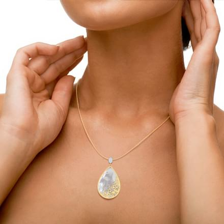 Sirius Mother of Pearl Pendant