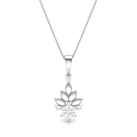 Bouquet Platinum  Pendant