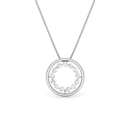 Cherish Platinum Pendant