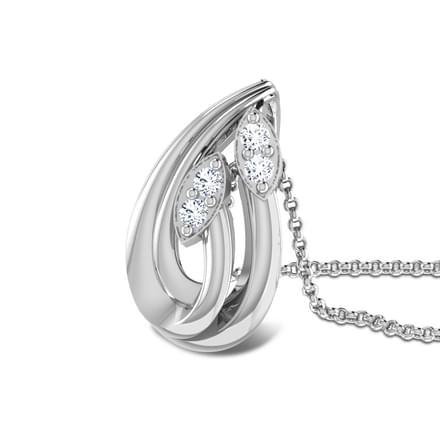 Embrace Platinum Pendant