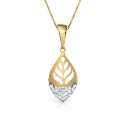 Foliate Cut-Out Pendant