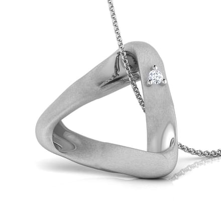 Misha Triangle Twist Pendant